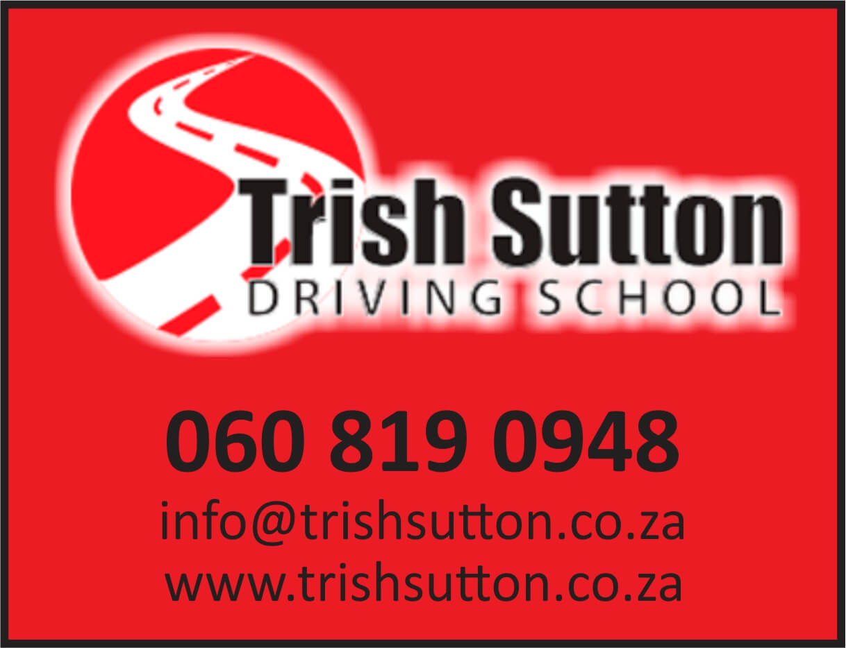 'I will go the extra mile to teach the pupil confidence and excellent driving skills.' Check out Trish's range of services right here www.trishsutton.co.za or contact Trish now at info@trishsutton.co.za